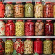 Консервирование компотов, соков и овощей