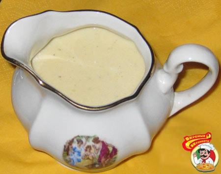 Молочный соус