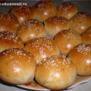 Как испечь сдобные булочки