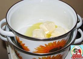 Растопить маргарин