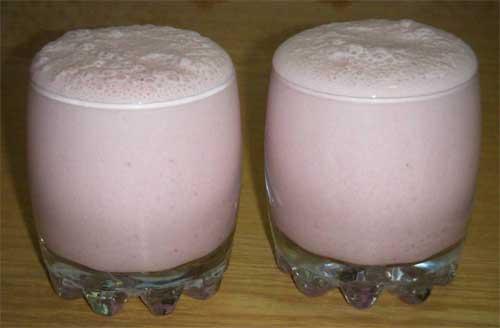 Молочный коктейль из мороженого