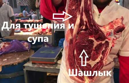 Мясо молодого бычка