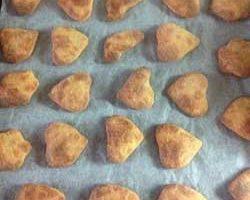 Печенье из плавленного сыра