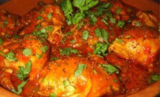 Рецепт куриного чахохбили
