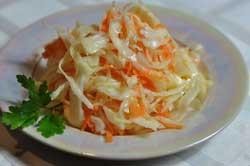 Капуста с болгарским перцем и морковью