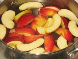 Как приготовить компот из свежих яблок