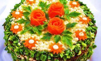 Торт из печени.