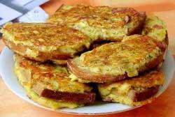Жареные бутерброды с картошкой