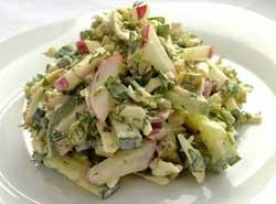 Рецепт весеннего салата