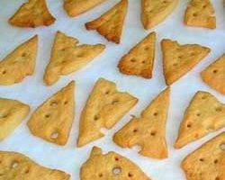 Как приготовить сырное печенье