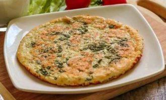 Рецепт сырных лепешек с зеленью