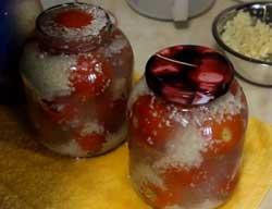 Снежные помидоры