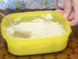 Яичный паштет с орехами