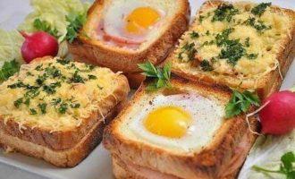 Бутерброды для завтрака