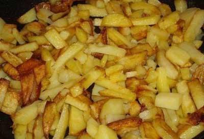 Как вкусно пожарить картофель