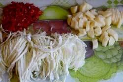 Русские щи из свежей капусты