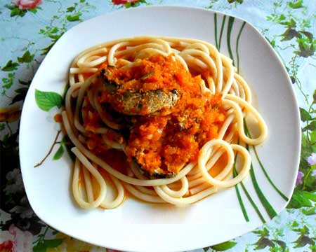 Килька с морковью