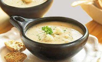 Рецепт супа-пюре из цветной капусты