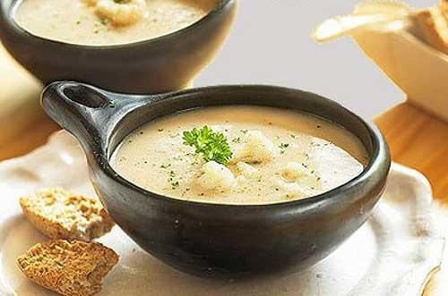 Как готовить суп пюре из цветной капусты