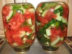 Как солить арбузы на зиму