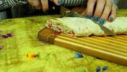 Холодные закуски из лаваша