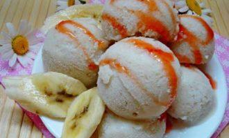 Банановое мороженое в домашних условиях