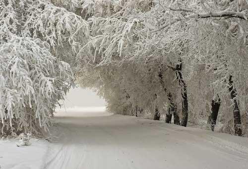 Как образуется снег