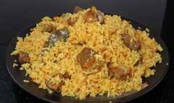 Рисовый плов с мясом