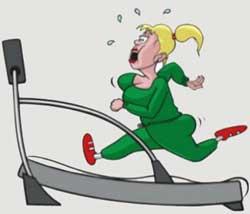 Чтобы похудеть, занимайтесь спортом