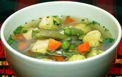 Бульон из овощей