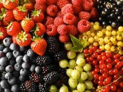 Низкокалорийные ягоды