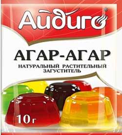 Агар-агар для зефира