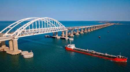 Знаменитый Крымский мост