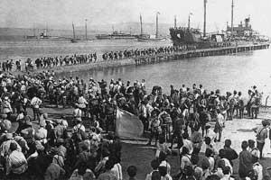 Бегство белой армии из Крыма