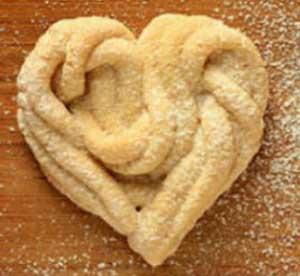 Печенье может быть разной формы