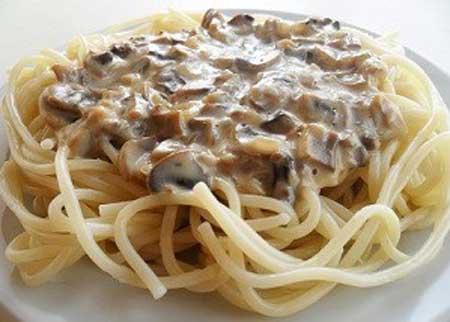 Соусы с грибами для макарон