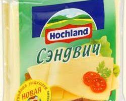 Сыр Hochland для салата.