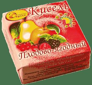 Плодово-ягодный кисель