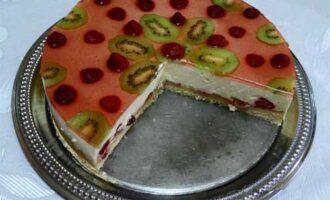 Экзотический торт.