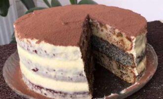 Торт волшебная сказка.