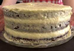 Торт с кремом.