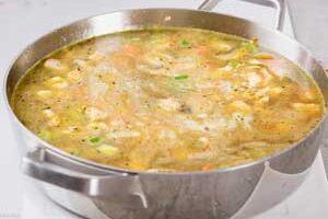 Варим суп.