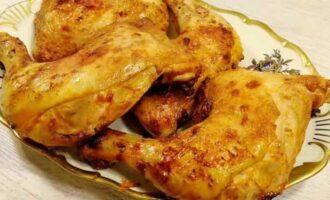 Курица приготовленная в кефире