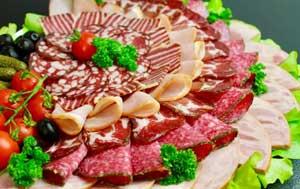Нарезка из мяса