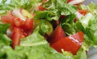 Салат из овощей смешанный