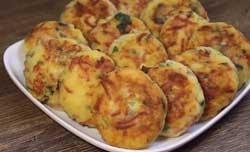 Котлеты из картофеля с колбасой