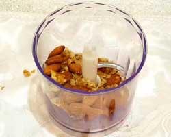Орехи в блендере