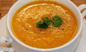 Суп-пюре с морковью