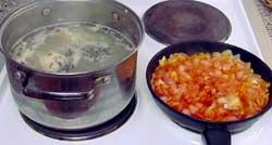 Заправка для супа харчо