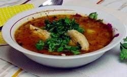 Суп харчо с мясом свинины